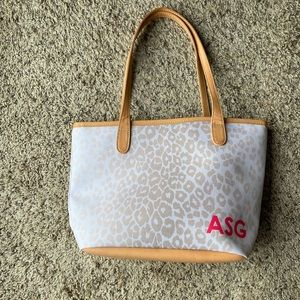 NEW Barrington Gifts St Anne Petite Zippered Tote